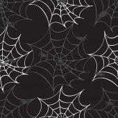 Örümcek ağı seamless modeli — Stok Vektör