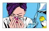Allergies — Stock Photo