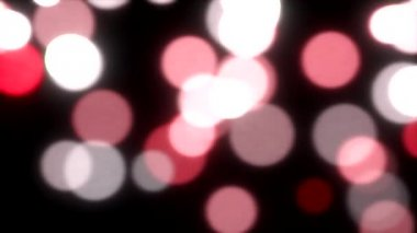 Falling lights sparks slow motion defocused abstract background red — Stock Video