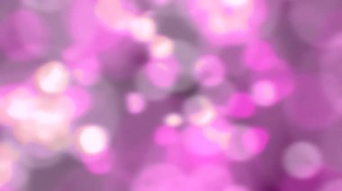 Sparkling light sparks slow motion defocused abstract background pink loop — Video Stock