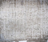 Old paint on a concrete wall — Stock Photo