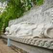 Religious monument to the Buddha. Lying. — Stock Photo #70607941