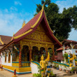 Religious building in Laos. — Stock Photo #70889941