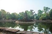 Le complexe du temple d'Angkor. — Photo