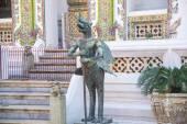Религиозный памятник в храме — Стоковое фото