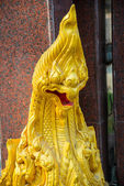 Sculpture at the temple — Stock Photo