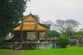 An ancient town in Vietnam, the fortress in the city in hue — Stock Photo