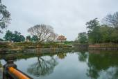 древний город во вьетнаме, крепость в городе в оттенке — Стоковое фото