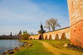 The Kirillo-Belozersky monastery.Russia,the city of Kirillov. — Stock Photo