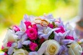 Fedi e fiori — Foto Stock