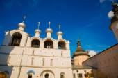 Rostov Kremlin.Russia,temples. — Stock Photo