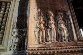 Het tempelcomplex van Angkor Wat. — Stockfoto