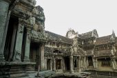 Храмовый комплекс Ангкор Ват. — Стоковое фото
