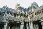 The temple complex of Angkor Wat. — Stock Photo