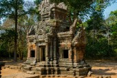 The temple complex of Angkor.Cambodia. — Stock Photo
