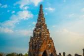 Starożytnych pałaców. Tajlandia Ayutthaya. — Zdjęcie stockowe