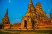 Ancient palaces. Ayutthaya Thailand. — Stock Photo
