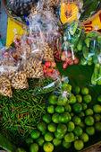 Colorful Street market ,Thailand. Nakhon Ratchasima. — Stock Photo
