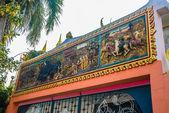 宗教情结叻市。泰国. — 图库照片