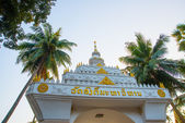 The temple with in the capital of Laos, Vientiane. — Stock Photo