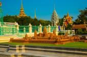 The Royal palace in  Phnom Penh, Cambodia. — Stock Photo
