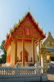 Buddhist temple in Thailand.Udon Thani. — Stock Photo
