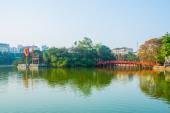 Quan Thanh Pagoda - Hanoi, Vietnam.it ist ein beliebtes Ferienziel in Hanoi, vietnam — Stockfoto