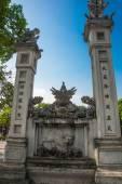 Quan Thanh Pagoda - Hanoi, Vietnam.it is a famous tourist destination in hanoi, vietnam — Stock Photo