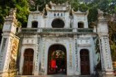 Quan Thanh Pagoda - Hanoi, Vietnam.it es un famoso destino turístico en hanoi, vietnam — Foto de Stock