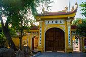 Tran Quoc pagode - Hanoi, Vietnam.it é um famoso destino turístico em Hanói, Vietnã — Fotografia Stock