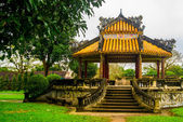Small pavilion in Hue citadel , Vietnam,Asia — Stock Photo