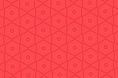 Patterns on a red background.5 — Stock Photo