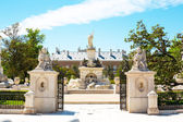 Fountains of the Palacio Real, Aranjuez — Stock Photo