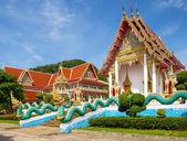 Thai church of Karon Temple, Thailand — Stock Photo