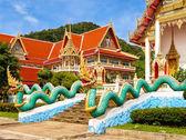 Thai church of Karon Temple at Phuket, Thailand — Stock Photo