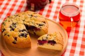Пирог с ягодами. — Стоковое фото