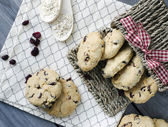 Oatmeal cranberry cookies — Stock Photo