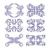 Vector calligraphy elements. — Stock Vector