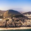 Rio de janeiro Panoramic view of Ipanema beach — Stock Photo #69285329