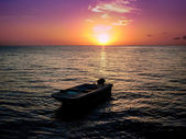 Sunset somewhere in the world — Foto Stock