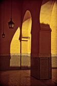 Arap avlu Iii — Stok fotoğraf