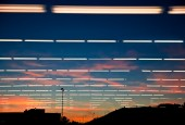 Natural light, Artificial light — Stock Photo