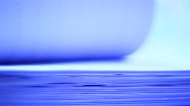 Turning pages of white paper — Stock Video