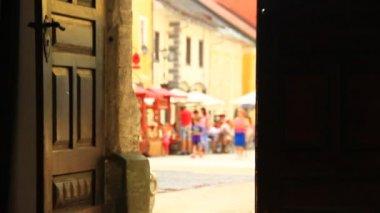 走在街上的人 — 图库视频影像
