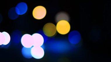 Abstracte kleurrijke lichten — Stockvideo