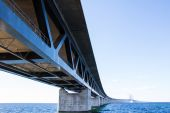 厄勒海峡大桥 — 图库照片