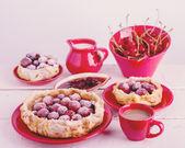 Cherry pie (tart). — Stockfoto