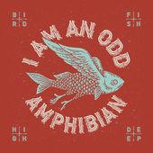 Mythological flying fish — Stock Vector