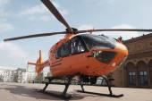 救援直升机 — 图库照片