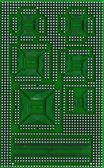 Microcircuit technology — Stock Photo